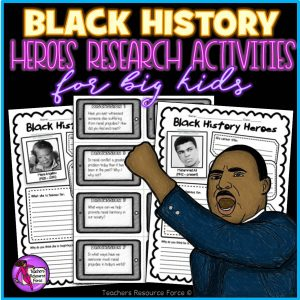 Black history research activities
