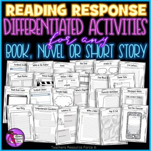 reading response activities for teens
