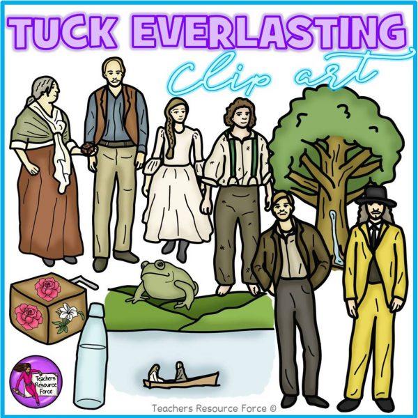 Tuck Everlasting Realistic Clip Art