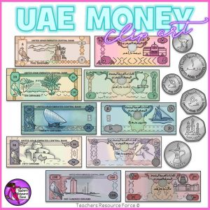 United Arab Emirates Money Clip Art