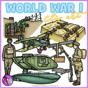 Realistic World War 1 Clip Art