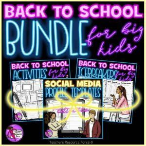 Back to school activities for teens
