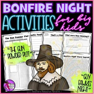 Bonfire Night Activities: Gun Powder Plot / Guy Fawkes Night