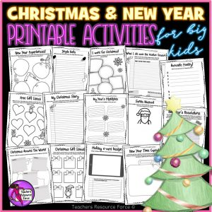 Christmas and New Year Activities for Big Kids