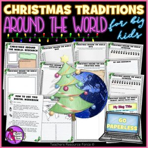 Christmas Around The World Digital Activities for Teens