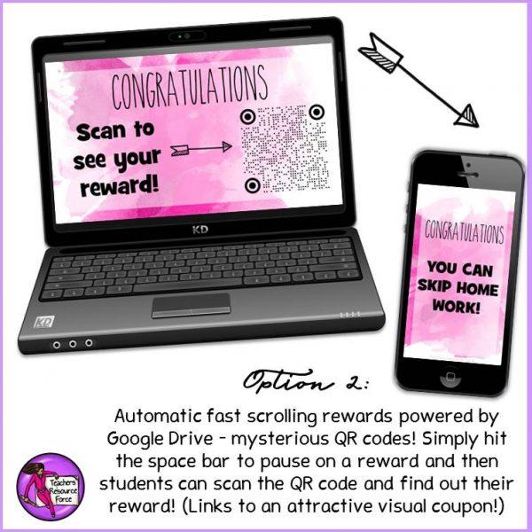 Digital Rewards Coupons for Big Kids (all free rewards and no food!)