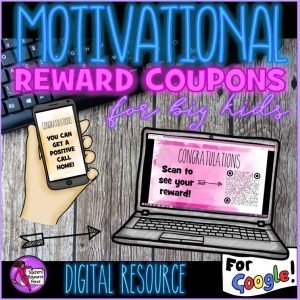 Digital Rewards Coupons for Big Kids (all free rewards and no food!)