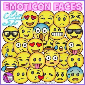 Emoji Clip Art: Smiley Faces