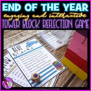 End of the Year Reflection Game