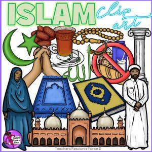 Islam Religion Realistic Clip Art
