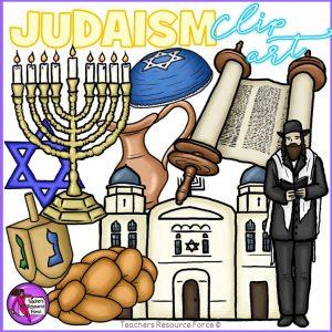 Jewish / Judaism / Hanukkah Realistic Clip Art