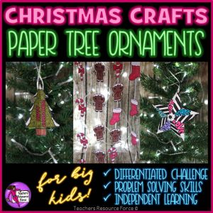Christmas Ornament Printable Crafts