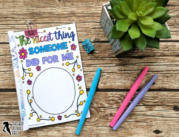 End of the Year Journal: Relax and Reflect Colouring Booklet