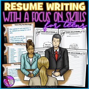 Resume / CV Writing Help for Teens: All About Job Skills