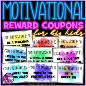 reward coupons for teens