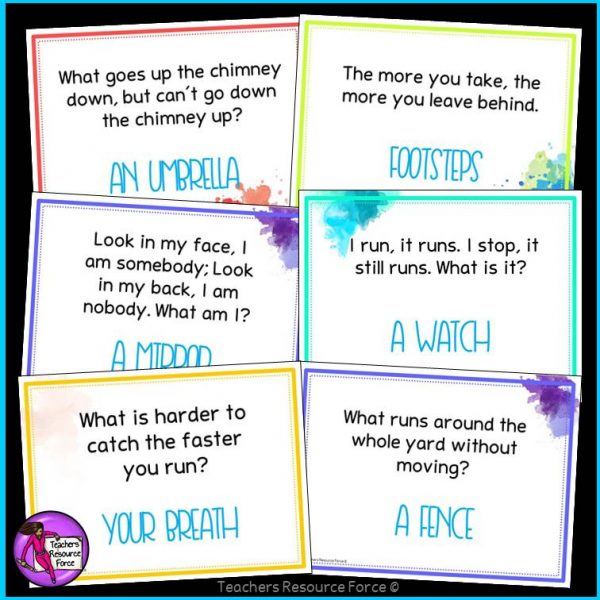 Riddles for teens