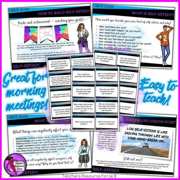 self-esteem activities for teens