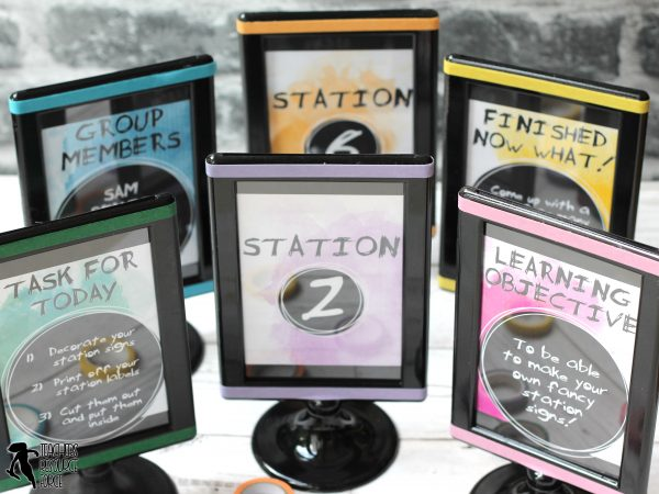 Station Centre Signs for Middle / High School