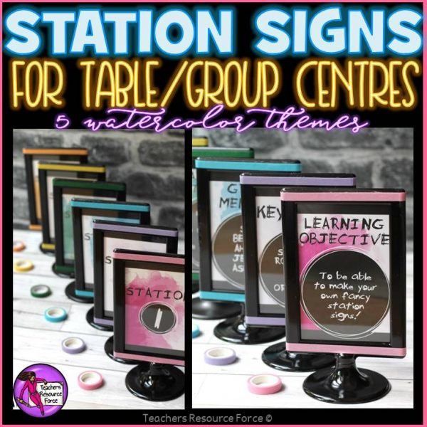 station centre signs