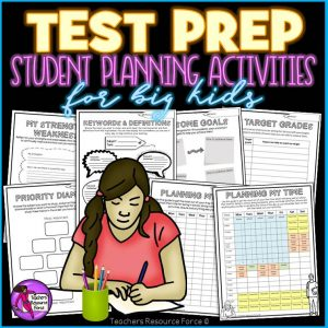 Test Prep: Graphic Organizers and Planning Activities