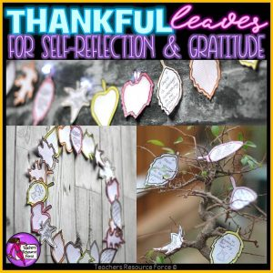 Thanksgiving Crafts: Gratitude Leaves for Big Kids