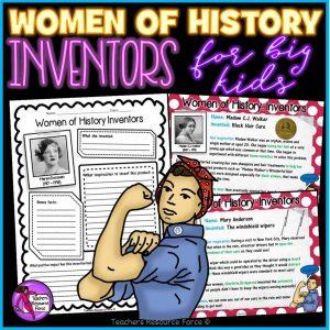Women of History Inventors: Activities for Big Kids