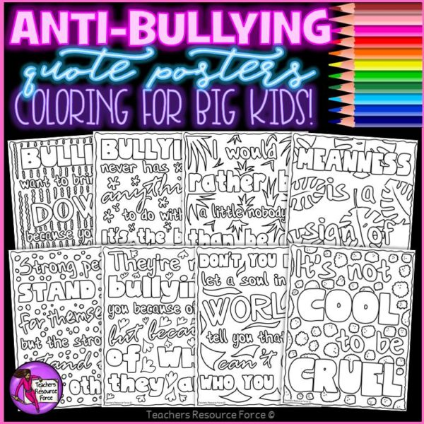 Anti Bullying Resources and Activities BUNDLE