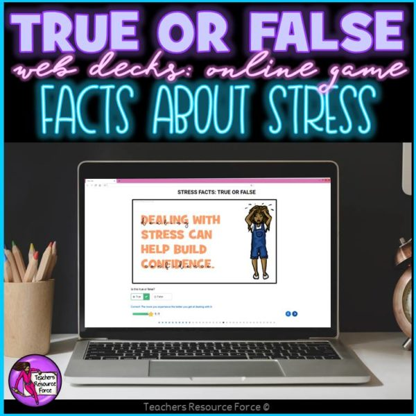 Stress Facts: True or False Online Game