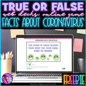 Coronavirus Facts: True or False Online Game