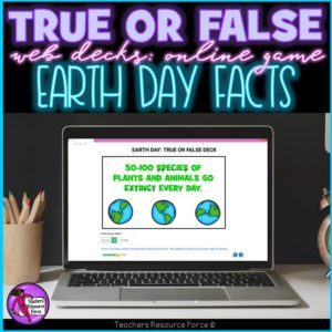 Earth Day Facts: True or False Online Game