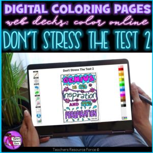 digital colouring decks