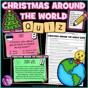 Christmas Holidays Around the World PowerPoint Quiz