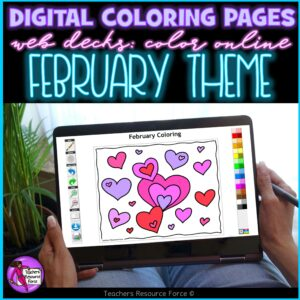 Digital Quote Colouring Pages – February Theme