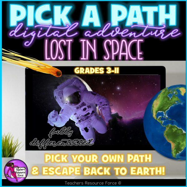 pick a path lost in space escape room