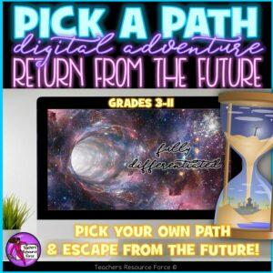 pick a path return from the future escape room