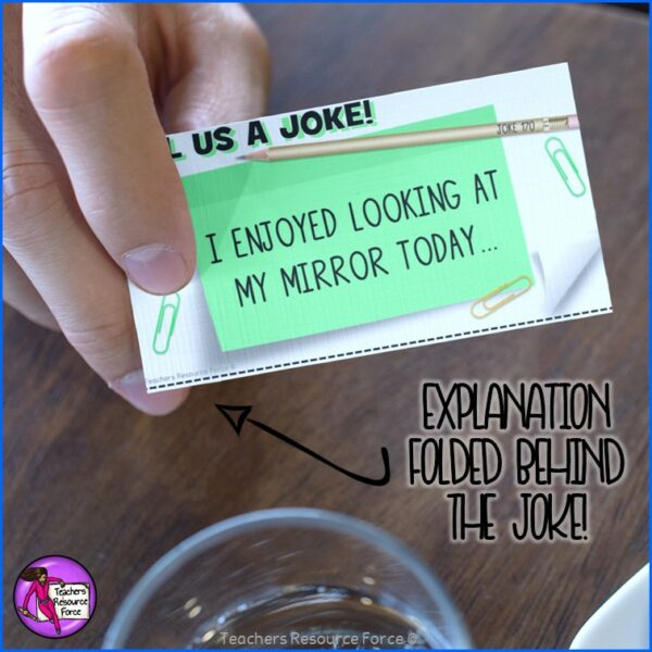 Joke Task Cards Set Bundle for Morning Meeting, Indoor Recess, Early Finishers, Reading